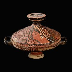 Lekanis. Cerámica. Magna Grecia. S. IV a.C._ArG.13