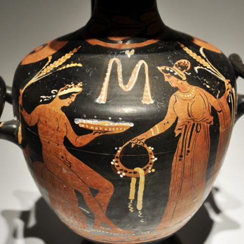 Hydria. Magna Grecia s. IV a. C._ArG.14e
