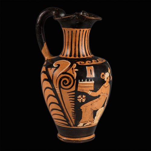 Oinochoe.  Magna Grecia s. IV a. C._ArG.16e