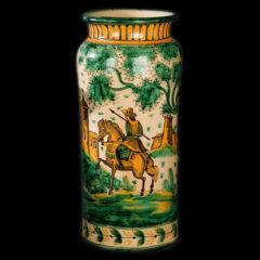 Paraguero. Ceramica esmaltada. Puente del Arzobispo. s.XX_AnC